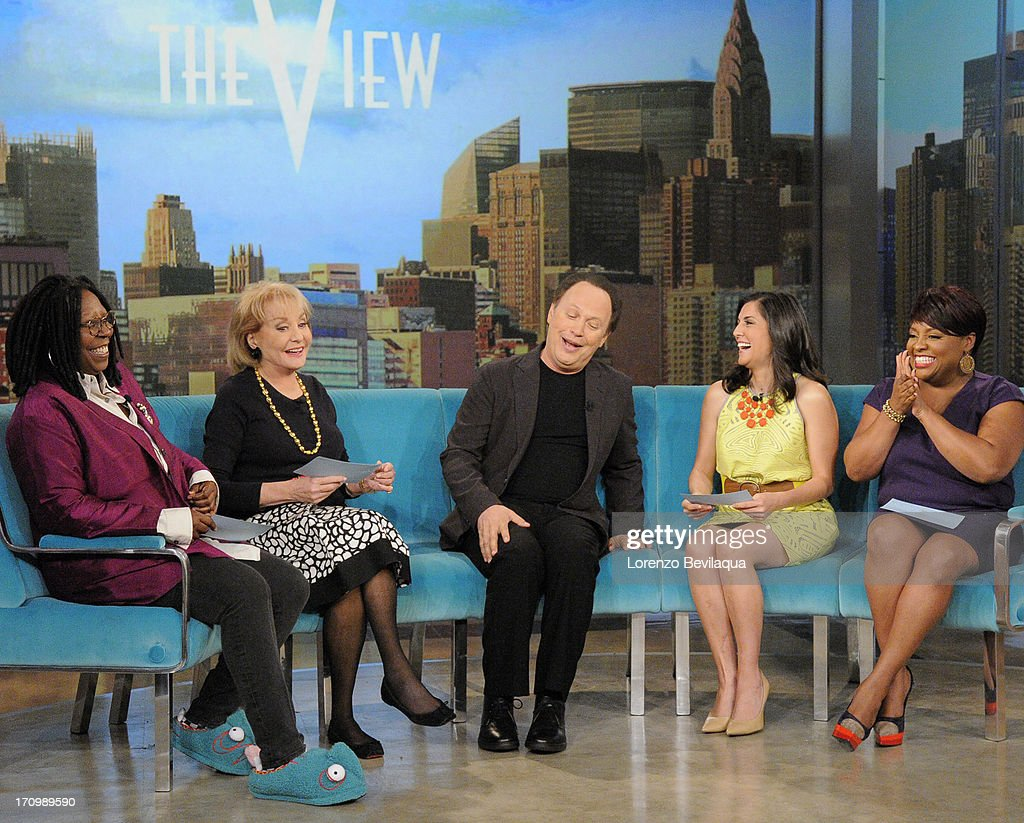 THE VIEW - (6.20.13) Guests include Billy Crystal, Amy Grant and Gildart Jackson (ABC's 'Whodunnit ?') on today's episode of 'The View.' 'The View' airs Monday-Friday (11:00 am-12:00 pm, ET) on the ABC Television Network. SHEPHERD
