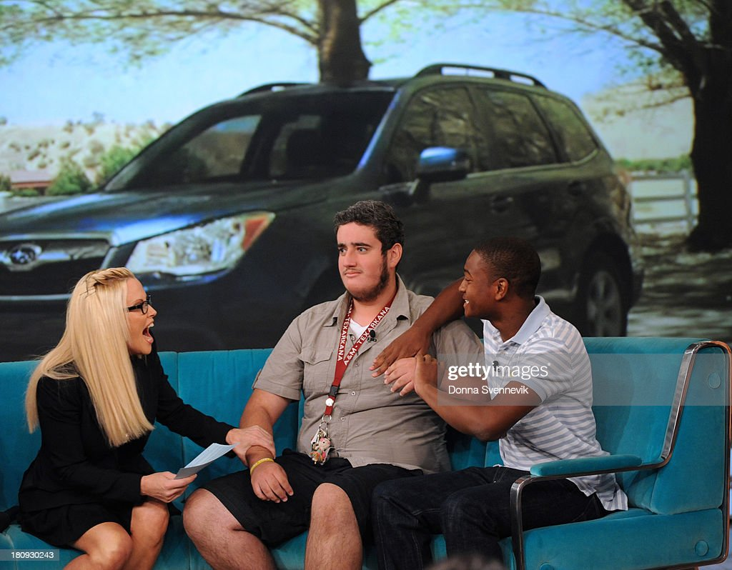 THE VIEW - Guests include Dr. Mehmet Oz; Allyson Hannigan; Hero Teens Jamal Harris and Aaron Arias describe how being in the right place at the right time led to their harrowing rescue of a kidnapped woman today, Tuesday, September 17, 2013 on ABC's 'The View.' 'The View' airs Monday-Friday (11:00 am-12:00 pm, ET) on the ABC Television Network. HARRIS