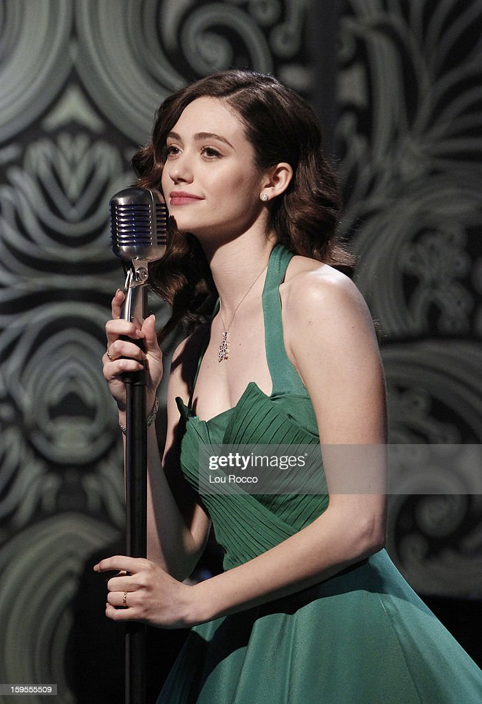 """THE VIEW - (1.15.13) Guests include, Keenan Thompson (""""Saturday Night Live"""") and Emmy Rossum (""""Shameless"""") today on 'The View.' 'The View' airs Monday-Friday (11:00 am-12:00 pm, ET) on the ABC Television Network. ROSSUM"""
