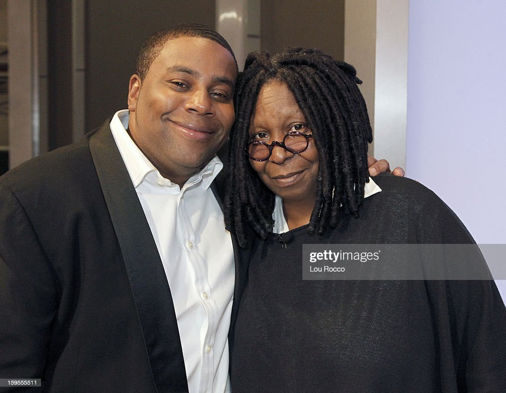 """THE VIEW - (1.15.13) Guests include, Keenan Thompson (""""Saturday Night Live"""") and Emmy Rossum (""""Shameless"""") today on 'The View.' 'The View' airs Monday-Friday (11:00 am-12:00 pm, ET) on the ABC Television Network. GOLDBERG"""