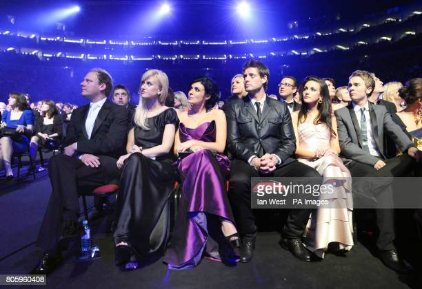 Guests including Antony Cotton Katherine Kelly Kym Marsh Keith Duffy Michelle Keegan and Jack P Shepherd during the National Television Awards 2010...