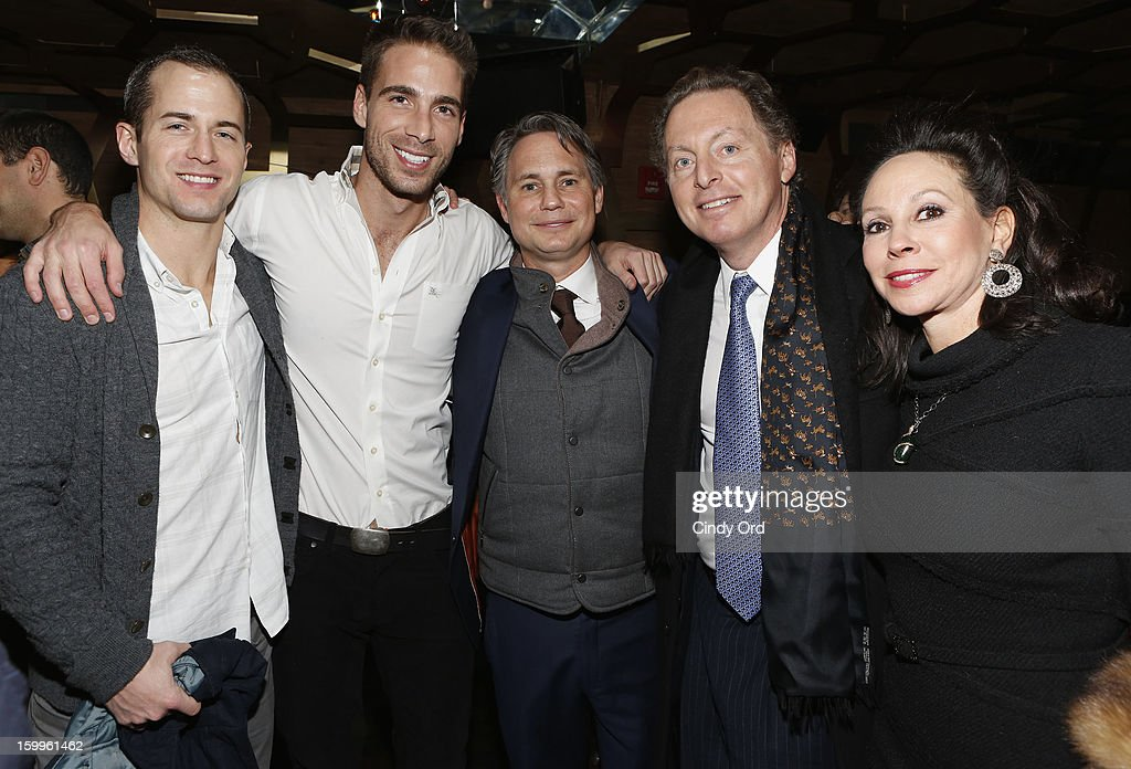 Guests, Jason Binn, CEO of Hudson Media James Cohen and wife attend DuJour Magazine Gala With Coco Rocha & Nigel Barker Presented by Invicta at Scott Sartiano and Richie Akiva's The Darby on January 23, 2013 in New York City.