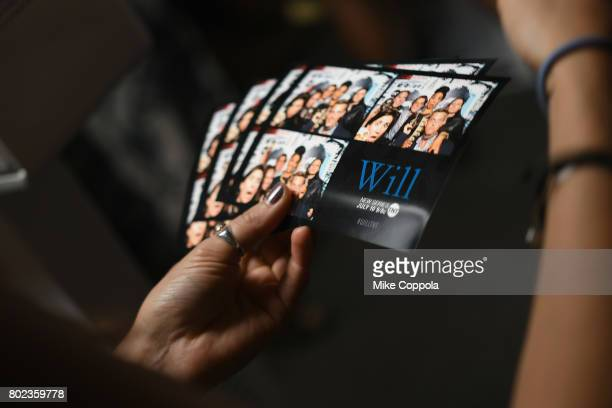 Guests take photos in a photo booth during TNT's Season One 'Will' Premiere After Party at Bryant Park on June 27 2017 in New York City 26058_015