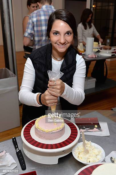 Guests with Anolon Gourmet Cookware at Anolon Cookware presents The Art Of Cake Decorating with Billy's Bakery NYC as a part of the Artisanal Cooking...