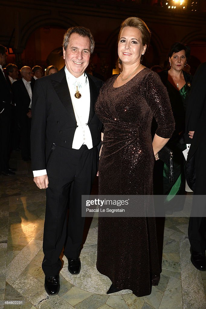 Guets attend the Nobel Prize Banquet after the 2013 Nobel Prize Awards Ceremony at City Hall on December 10, 2013 in Stockholm, Sweden.