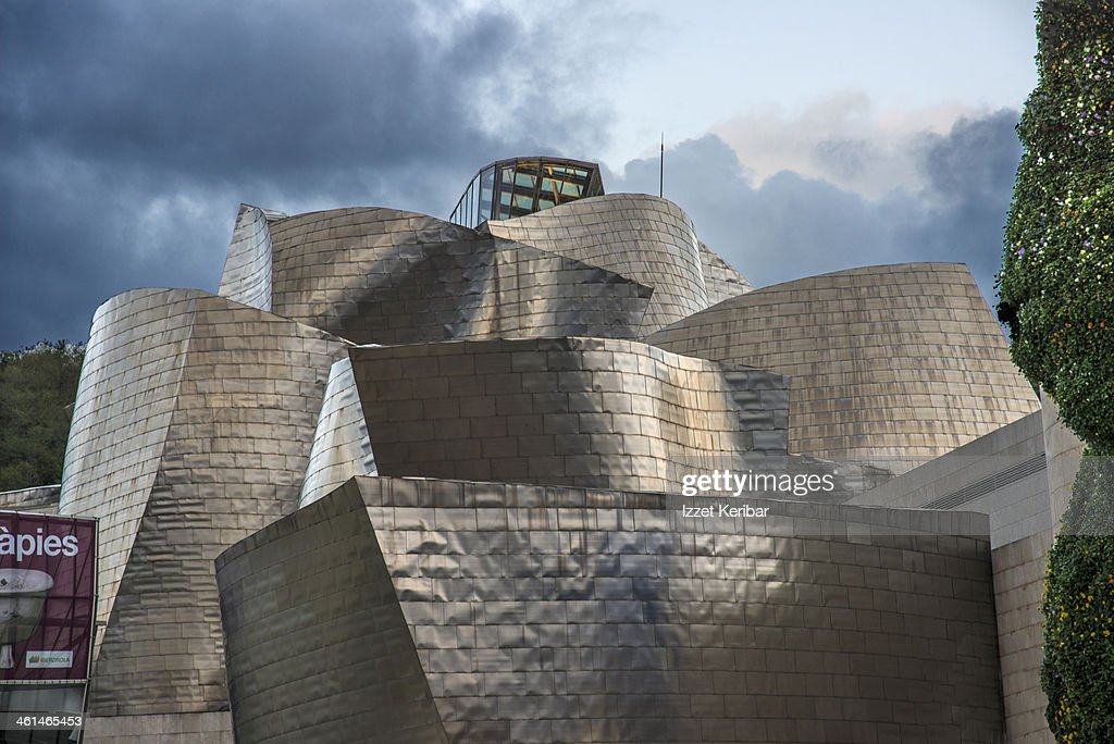 guggenheim modern museum of bilbao stock photo getty images