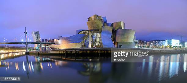 Guggenheim Museum Bilbao at Night