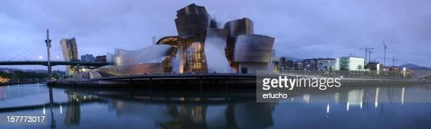 Guggenheim Museum Bilbao at Night