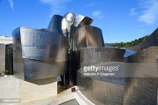 Guggenheim Museum, Bilbao, Basque Region, Spain : Stock Photo