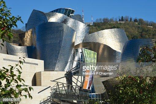 Guggenheim Museum, Bilbao, Basque Region, Spain : Stock Photo