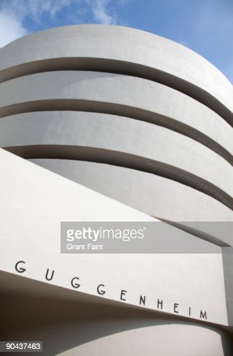Guggenheim Museum, detail side view