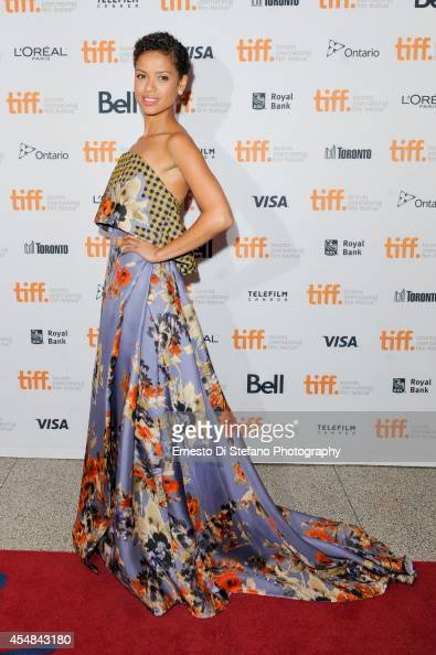 Gugu Mbatha Raw attends the premiere of 'Beyond The Lights' at the Toronto International Film Festival at The Elgin on September 6 2014 in Toronto...