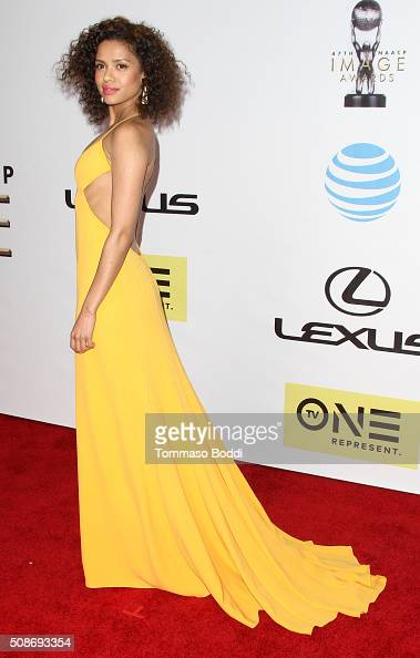 Gugu MbathaRaw attends the 47th NAACP Image Awards held at Pasadena Civic Auditorium on February 5 2016 in Pasadena California