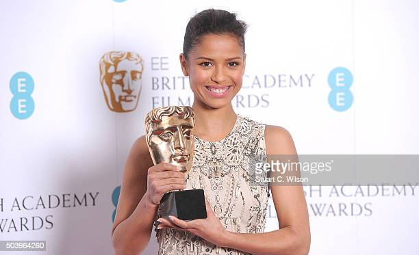Gugu MbathaRaw attends the annoucement of the EE British Academy Film Awards nominations at BAFTA on January 8 2016 in London England