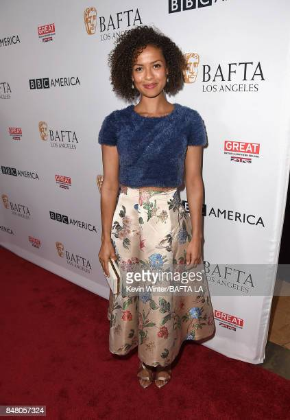 Gugu MbathaRaw attends the BBC America BAFTA Los Angeles TV Tea Party 2017 at The Beverly Hilton Hotel on September 16 2017 in Beverly Hills...