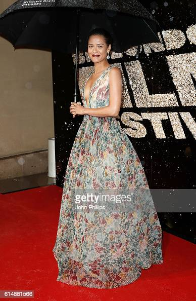Gugu MbathaRaw attends the BFI London Film Festival Awards during the 60th BFI London Film Festival at Banqueting House on October 15 2016 in London...