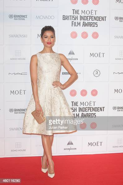 Gugu MbathaRaw attends the Moet British Independent Film Awards at Old Billingsgate Market on December 7 2014 in London England