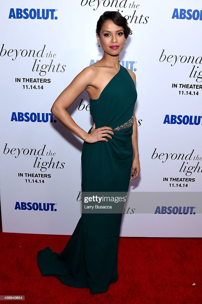 Gugu MbathaRaw attends The New York Premiere Of Relativity Media's 'Beyond the Lights' at Regal Union Square Stadium on November 13 2014 in New York...