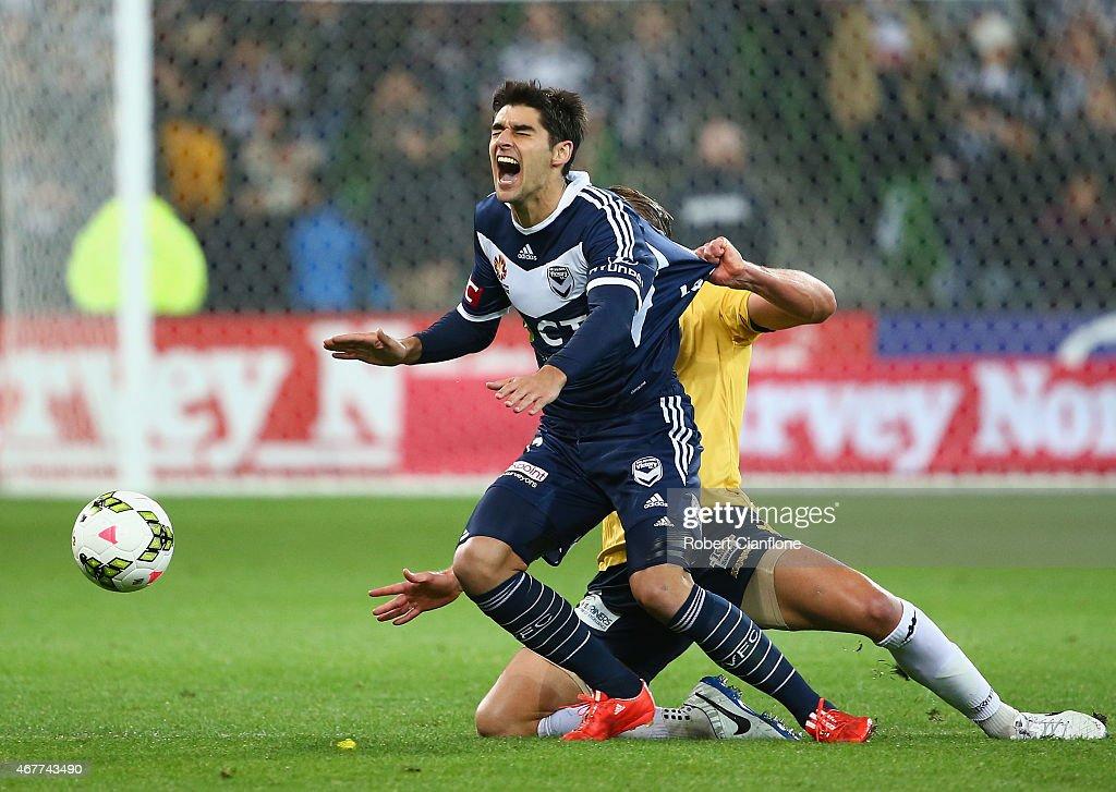 A-League Rd 23 - Melbourne v Central Coast