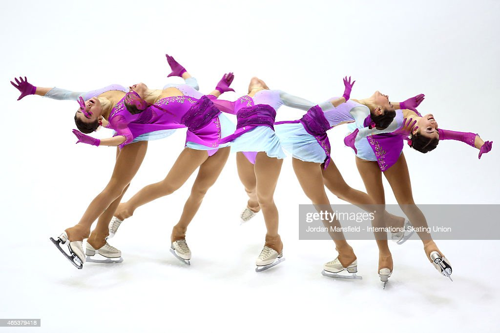 Guia Maria Tagliapietra of Italy performs during the Women's Free Skating on Day 3 of the ISU World Junior Figure Skating Championships at Tondiraba...