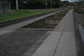 guided bus way tracks in Cambridge
