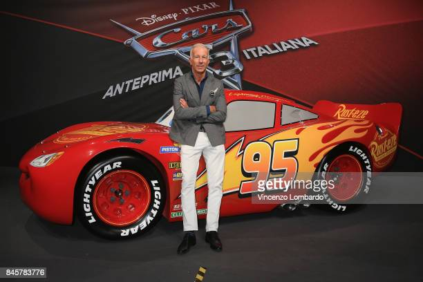 Guido Bagatta attends Cars 3 photocall in Milan on September 11 2017 in Milan Italy