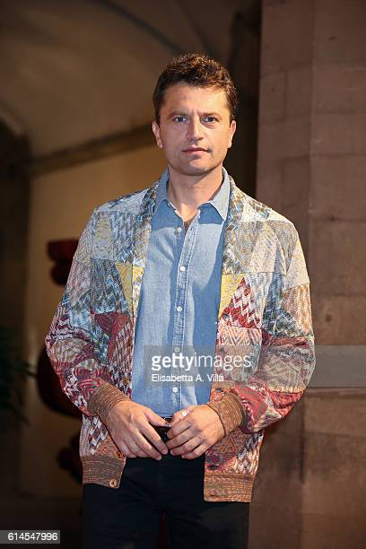 Guido Caprino attends a photocall for 'I Medici' at Palazzo Vecchio on October 14 2016 in Florence Italy