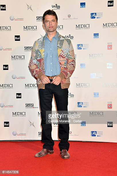 Guido Caprino attends a photocall for 'I Medici' on October 14 2016 in Florence Italy