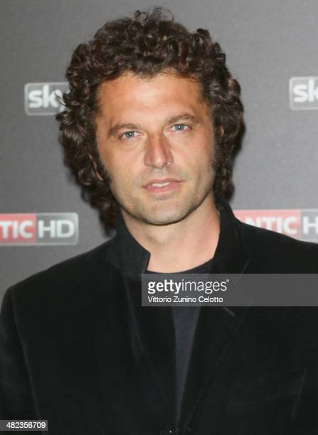 Guido Caprino attends 'Game Of Thrones' Premiere on April 3 2014 in Milan Italy
