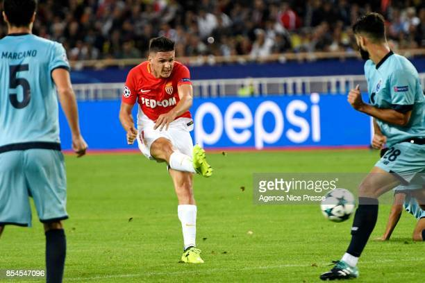 Guido Carrillo of Monaco during the Uefa Champions League match between As Monaco and Fc Porto on September 26 2017 in Monaco Monaco