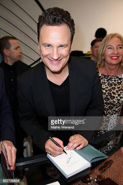 Guido Maria Kretschmer attends the Collection Presentation at Jades on July 26 2014 in Duesseldorf Germany