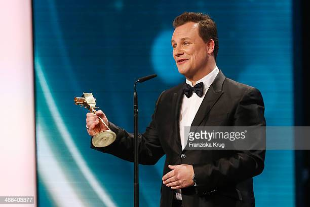 Guido Maria Kretschmer attends the Goldene Kamera 2014 at Tempelhof Airport on February 01 2014 in Berlin Germany