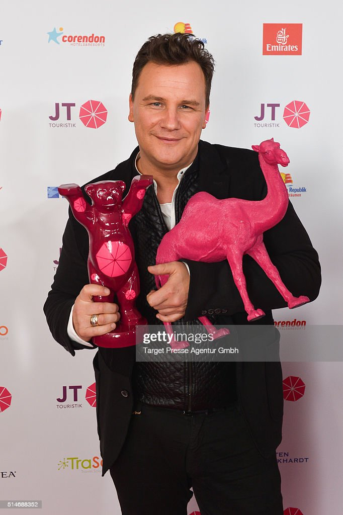 Guido Maria Kretschmer attends the JT Touristik Celebrates ITB Party at Soho House on March 10 2016 in Berlin Germany