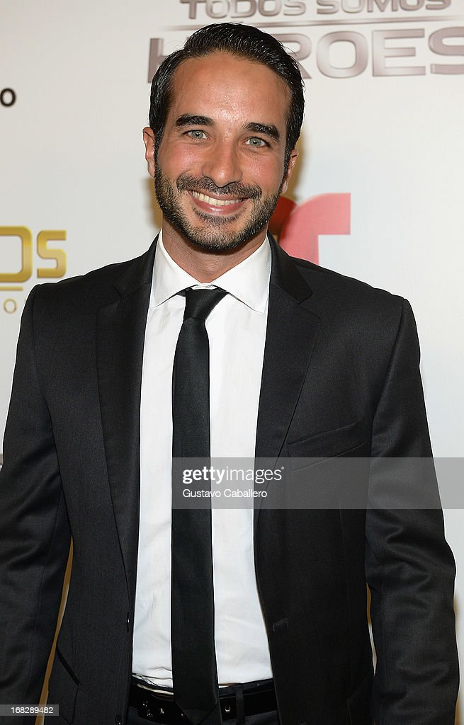 Guido Massri attends the Telemundo's Todos Somos Heroes Gala on May 7, 2013 in Miami, United States.