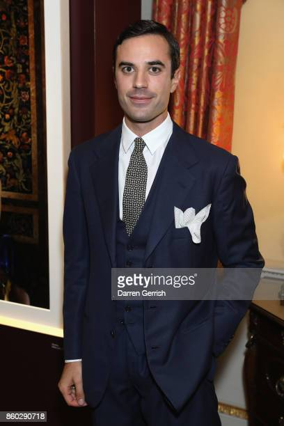 Guido Taroni attends Giampiero Bodino's 'Beauty Is My Favourite Colour' cocktails and dinner evening at Spencer House on October 11 2017 in London...