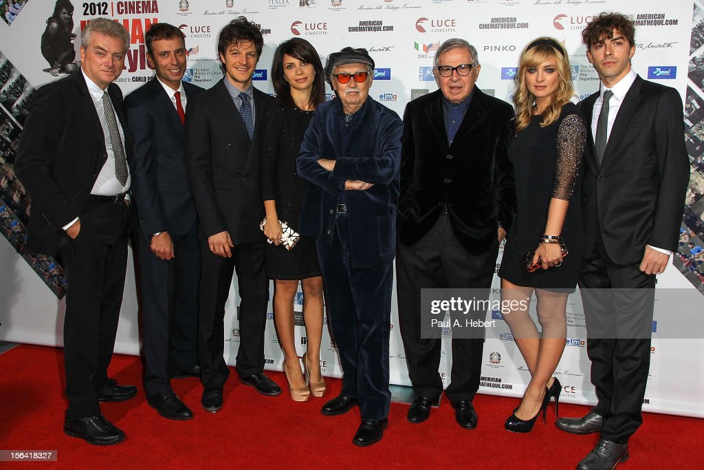 """2012 Cinema Italian Style Opening Night Gala Screening Of """"Caesar Must Die"""" - Arrivals"""