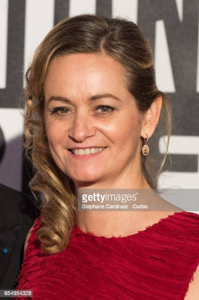 Guilaine Chenu attends the Rose Ball 2017 To Benefit The Princess Grace Foundation at Sporting MonteCarlo on March 18 2017 in MonteCarlo Monaco