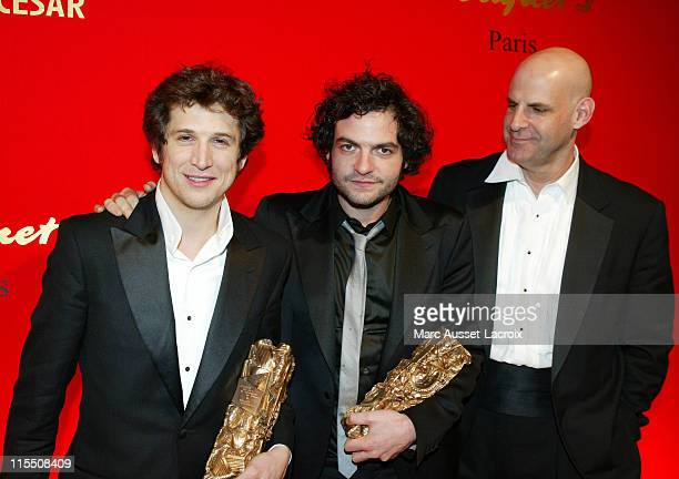 Guilaume Canet Mathieu Chedid aka 'M' and Harlan Coben