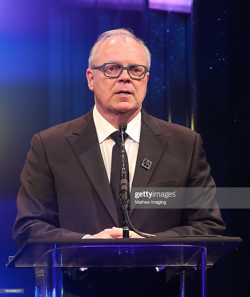 Guild Council President John Shaffner onstage at The 17th Annual Art Directors Guild Awards, held at the Beverly Hilton Hotel on February 2, 2013 in Beverly Hills, California.
