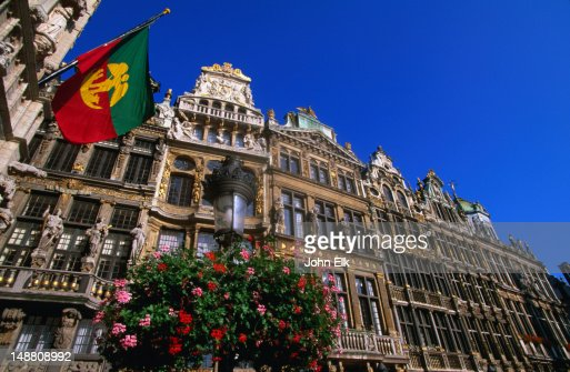 Guild houses at Grand Place.