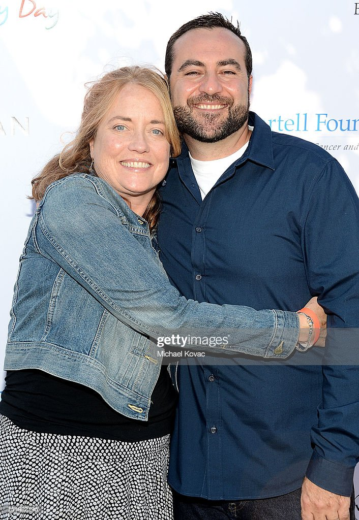 Guild of Music Supervisors President Maureen Crowe (L) and Atlantic Records VP Kevin Weaver attend The T.J. Martell Foundation 4th Annual Family Day LA on October 28, 2012 in Los Angeles, California.