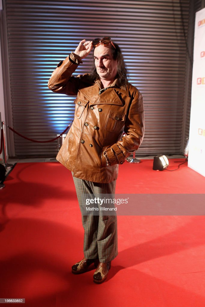Guildo Horn attends the 'RTL Spendenmarathon' at RTL Studio Huerth on November 22, 2012 in Cologne, Germany.