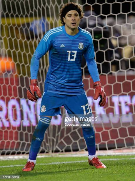 Guilermo Ochoa of Mexico during the International Friendly match between Belgium v Mexico at the Koning Boudewijnstadion on November 10 2017 in...