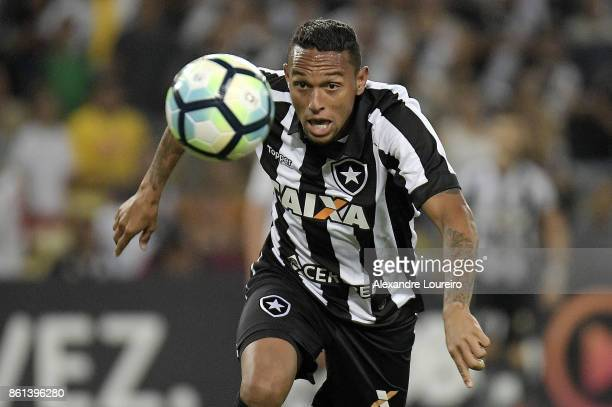 Guilherme of Botafogo in action during the match between Vasco da Gama and Botafogo as part of Brasileirao Series A 2017 at Maracana Stadium on...