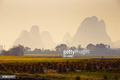 Guilin in autumn : Stock Photo