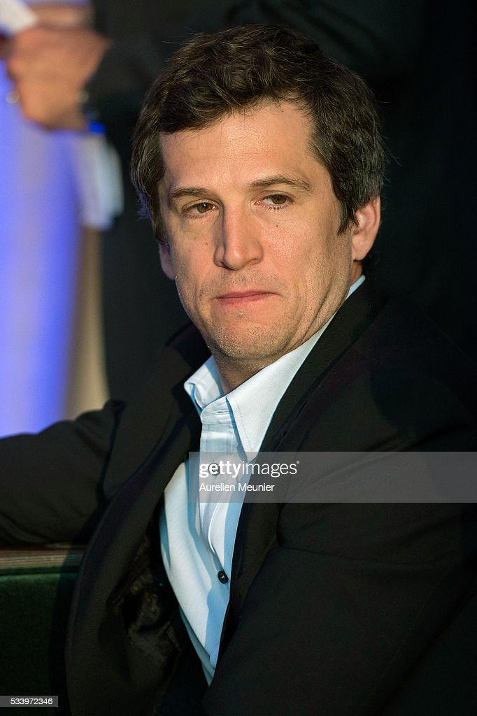 Guillaume Canet addresses attends the 3rd Longines Paris Eiffel Jumping press conference on May 24, 2016 in Paris, France.