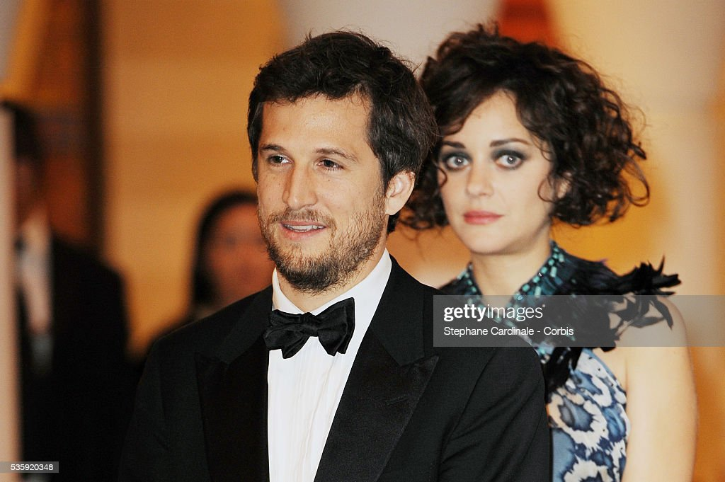 Guillaume Canet and Marion Cotillard attend the meeting with HRH Prince Moulay Rachid during the Marrakech 10th Film Festival.