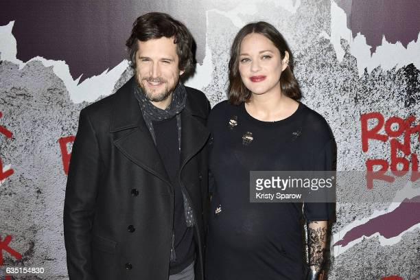 Guillaume Canet and Marion Cotillard attend the 'Rock'N Roll' Premiere at Cinema Pathe Beaugrenelle on February 13 2017 in Paris France