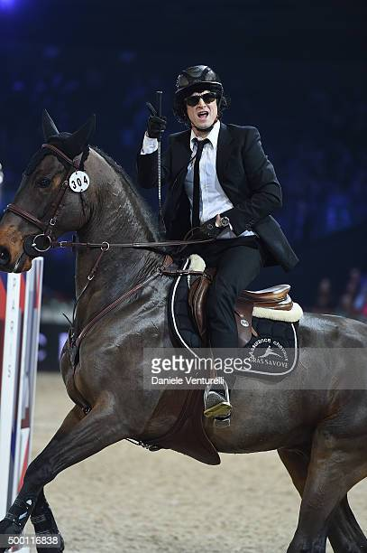Guillaume Canet at the Style Competition for AMADE during the Paris Longines Masters on December 5 2015 in Villepinte France