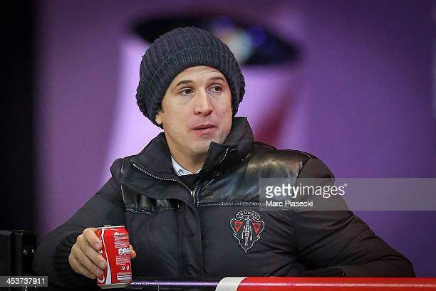 Guillaume Canet attends the 'Gucci Paris Masters 2013' at Paris Nord Villepinte on December 5 2013 in Paris France